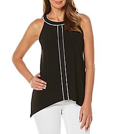Rafaella® Contrast Trim Top