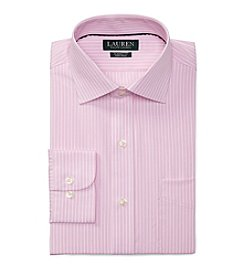 Lauren Ralph Lauren® Classic Fit Striped Cotton Dress Shirt