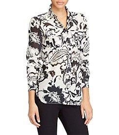 Lauren Ralph Lauren® Petites' Paisley Shirt