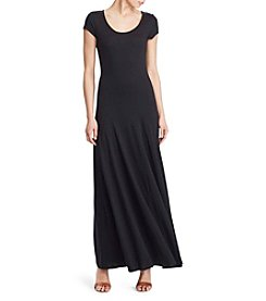 Lauren Ralph Lauren® Petites' Jersey Scoopneck Maxi Dress