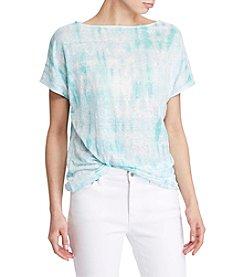 Lauren Ralph Lauren® Petites' Tie-Dye Knit Top