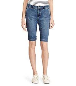 Lauren Ralph Lauren® Petites' Stretch Denim Shorts