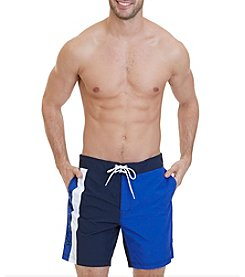 Nautica® Men's Quick Dry Signature Color Block Swim Trunks
