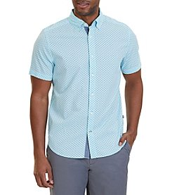Nautica® Men's Classic Fit Printed Short Sleeve Shirt