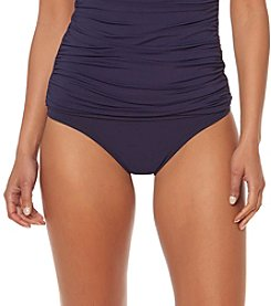 Bleu|Rod Beattie® Banded Midster Bikini Bottom
