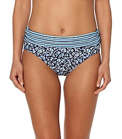 Ellen Tracy® Floral Banded Bottoms