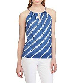 Chaps® Tie-Dye Jersey Halter Top