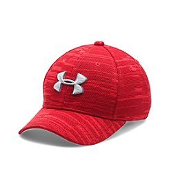 Under Armour® Boys' Printed Blitzing Stretch Fit Cap