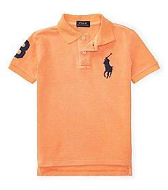 Polo Ralph Lauren® Boys' 4-7 Mesh Dyed Tee