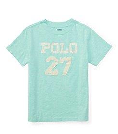 Polo Ralph Lauren® Boys' 5-7 Slub Jersey Knit Top