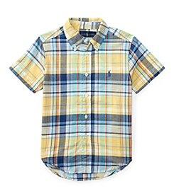 Polo Ralph Lauren® Boys' 5-7 Madras Shirt