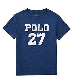 Polo Ralph Lauren® Boys' 2T-7 Slub Jersey Tee