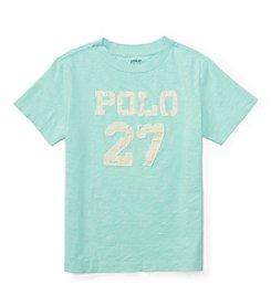 Polo Ralph Lauren Boys' 4-7 Slub Jersey Tee