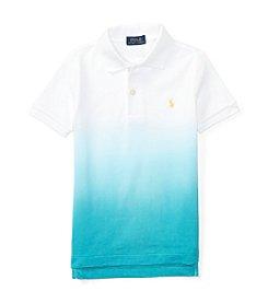 Polo Ralph Lauren® Boys' 4-7 Dip Dye Basic Mesh Tee