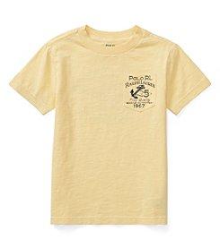 Polo Ralph Lauren® Boys' 5-7 Slub Jersey Graphic Top