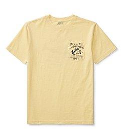 Polo Ralph Lauren® Boys' 8-20 Slub Jersey Graphic Top