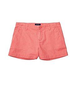 Polo Ralph Lauren® Girls' 2T-6X Chino Shorts