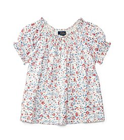 Polo Ralph Lauren® Girls' 2T-4T Floral Top