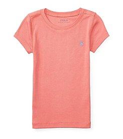 Polo Ralph Lauren® Girls' 2T-4T Crew Top
