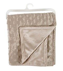 Stephan Baby® Mocha Bumpy Dot Blanket