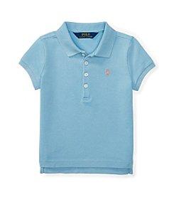 Polo Ralph Lauren® Girls' 2T-6X Mesh Polo Top