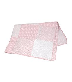 Stephan Baby® Pink Dot Quilt
