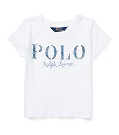 Polo Ralph Lauren® Girls' 2T-4T Jersey Polo Tee