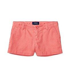 Polo Ralph Lauren® Girls' 7-16 Chino Shorts