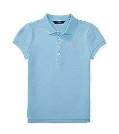 Polo Ralph Lauren® Girls' 7-16 Polo Knit Top
