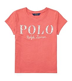 Polo Ralph Lauren® Girls' 7-16 Jersey Polo Tee