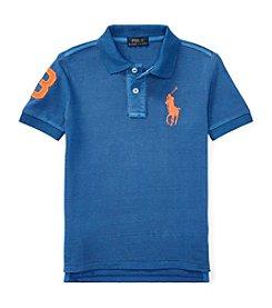 Polo Ralph Lauren® Boys' 2T-7 Big Jersey Polo Shirt