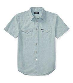 Polo Ralph Lauren® Boys' 8-20 Chambray Western Top