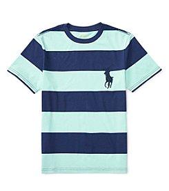 Polo Ralph Lauren® Boys' 8-20 Jersey Striped Shirt