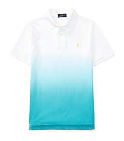 Polo Ralph Lauren® Boys' 8-20 Basic Mesh Dip-Dyed Top