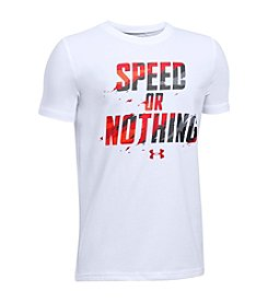 Under Armour® Boys' 8-20 Speed Or Nothing Tee