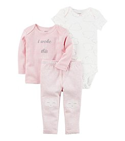 Carter's® Baby Girls' 3-Piece Cloud Set