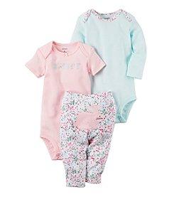 Carter's® Baby Girls' 3-Piece Bunny Set