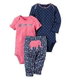 Carter's® Baby Girls' 3-Piece Elephant Set