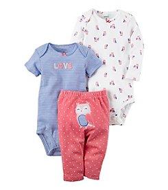 Carter's® Baby Girls' 3-Piece Owl Set