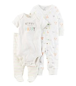 Carter's® Baby 3-Piece Mommy Makes Me Happy Set