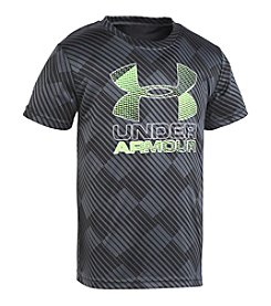 Under Armour® Boys' 4-7 Tilt Shift Logo Tee