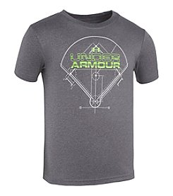 Under Armour® Boys' 4-7 Baseball Diamond Tee