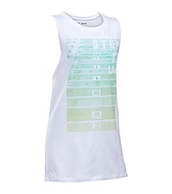 Under Armour® Girls' 7-16 Step It Up Muscle Tank