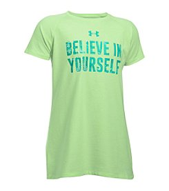 Under Armour® Girls' 7-16 Believe In Yourself Tee