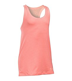 Under Armour® Girls' 2T-16 HeatGear® Solid Tank Top