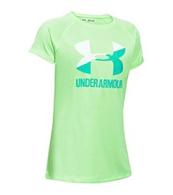 Under Armour® Girls' 7-16 Novelty Big Logo Tee