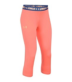 Under Armour® Girls' 2T-16 Solid Capri Pants