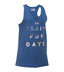 Under Armour® Girls' 2T-16 Train For Days Tank Top