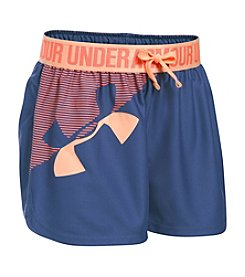 Under Armour® Girls' 2T-16 Graphic Play Up Shorts