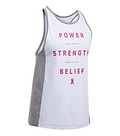 Under Armour® Power In Pink Inset Tank